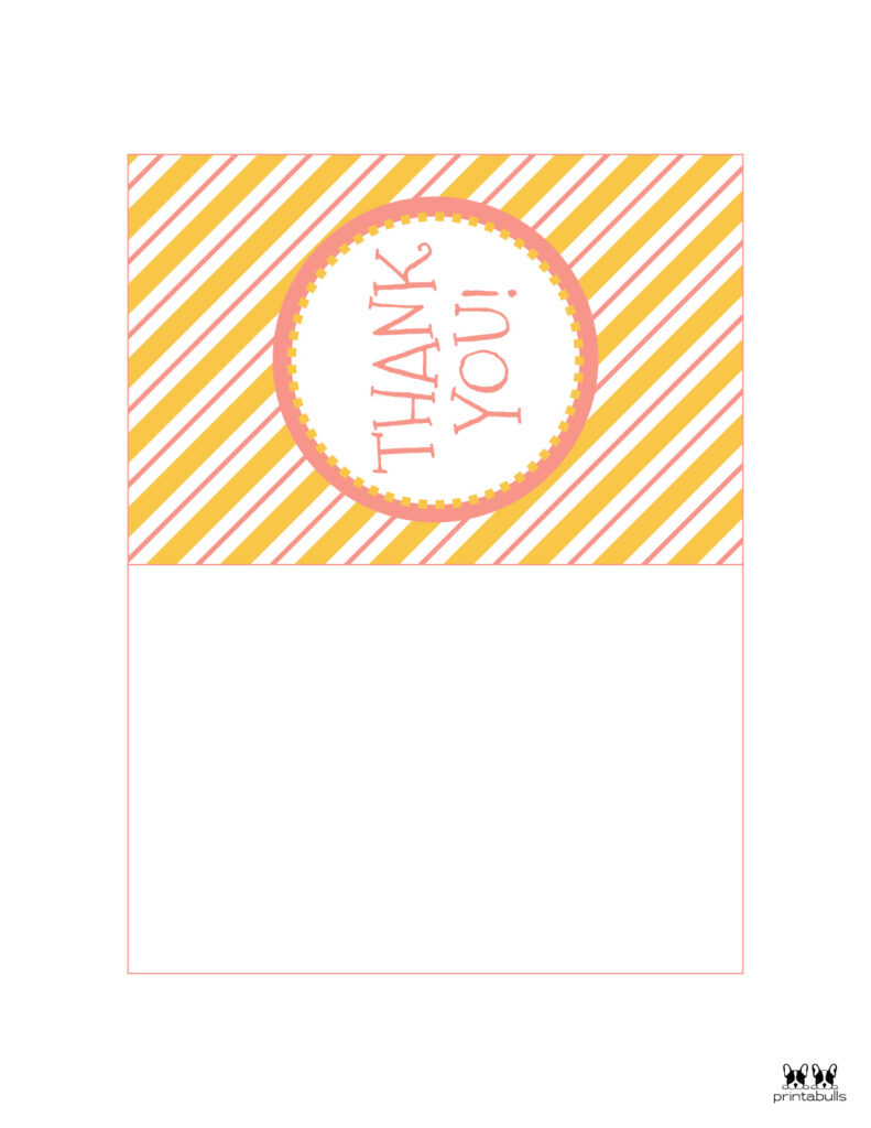 Printable Foldable Thank You Cards-Page 8