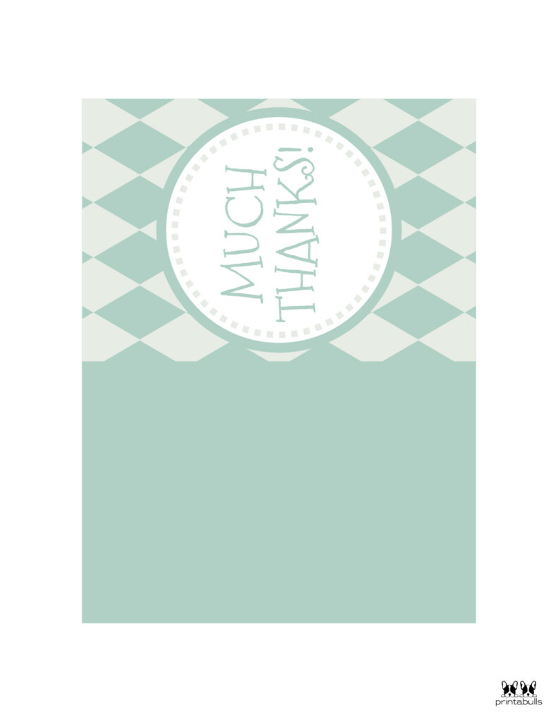 Printable Foldable Thank You Cards-Page 9