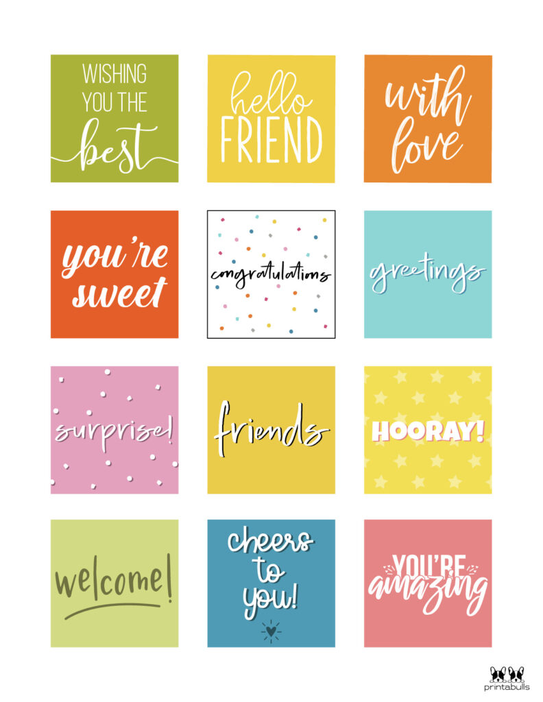 Printable Gift Tags-Page 15