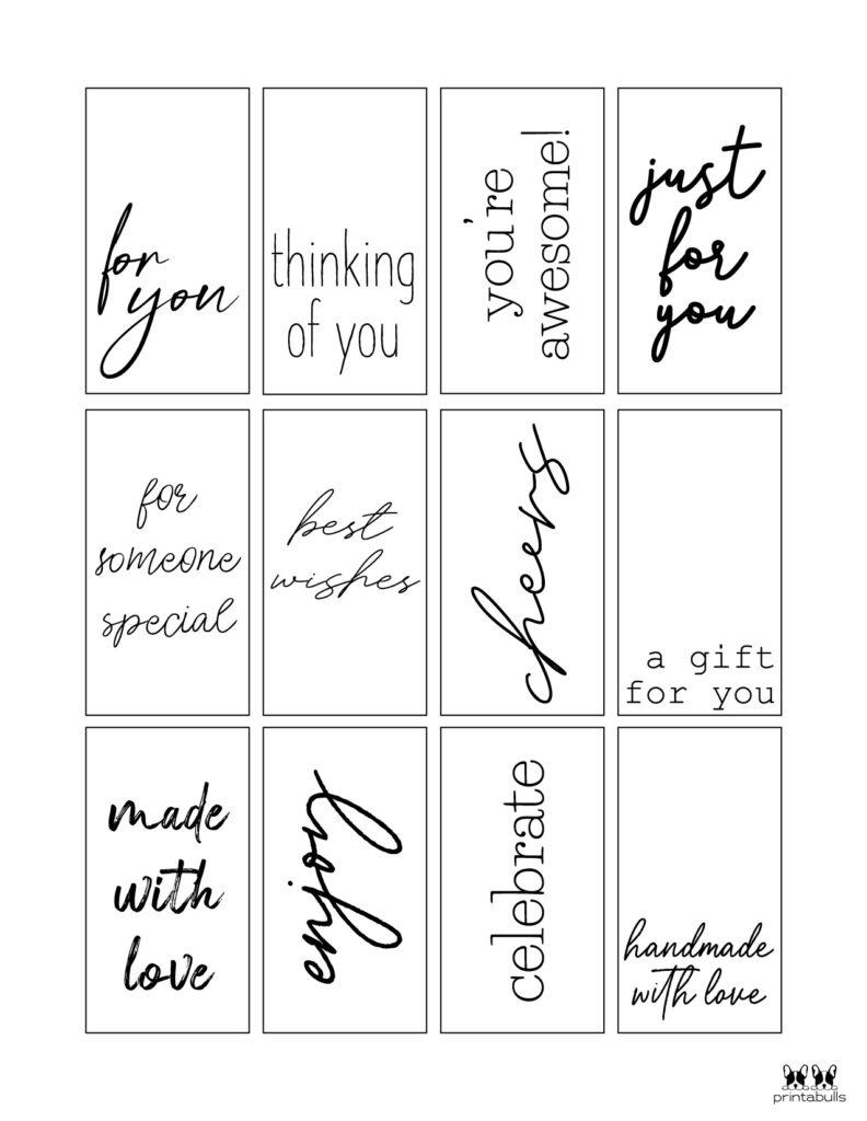 Printable Gift Tags-Page 33