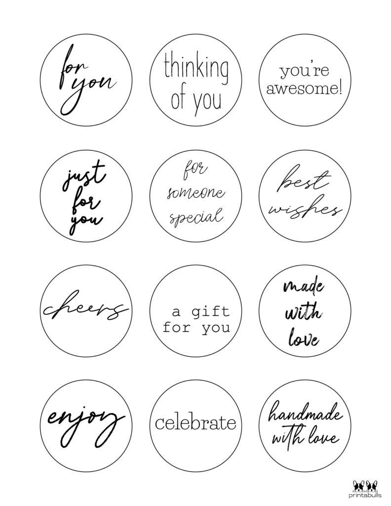 Printable Gift Tags-Page 34