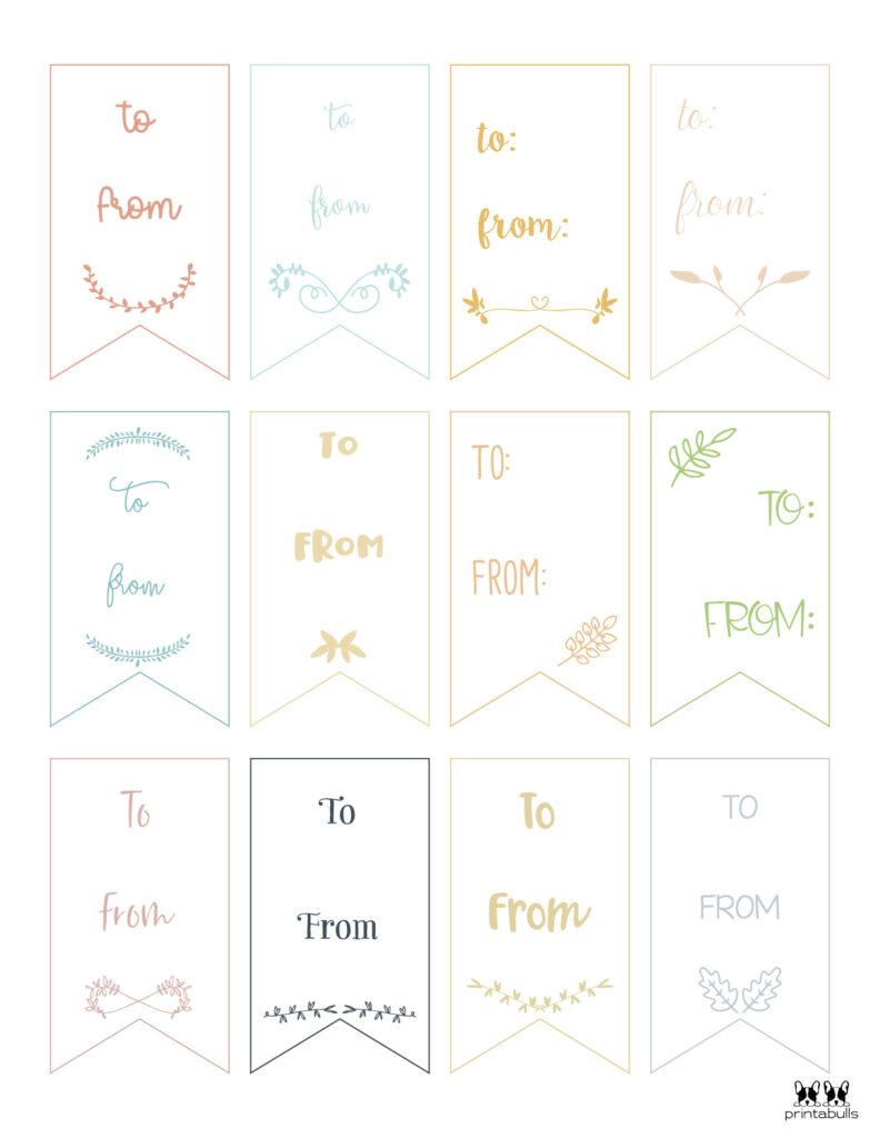 Printable Gift Tags-Page 37