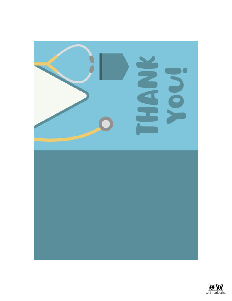 Printable Medical Staff Thank You Cards-Page 3