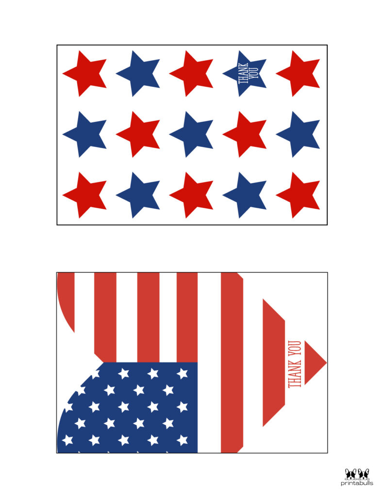 Printable Military Thank You Cards-Page 2