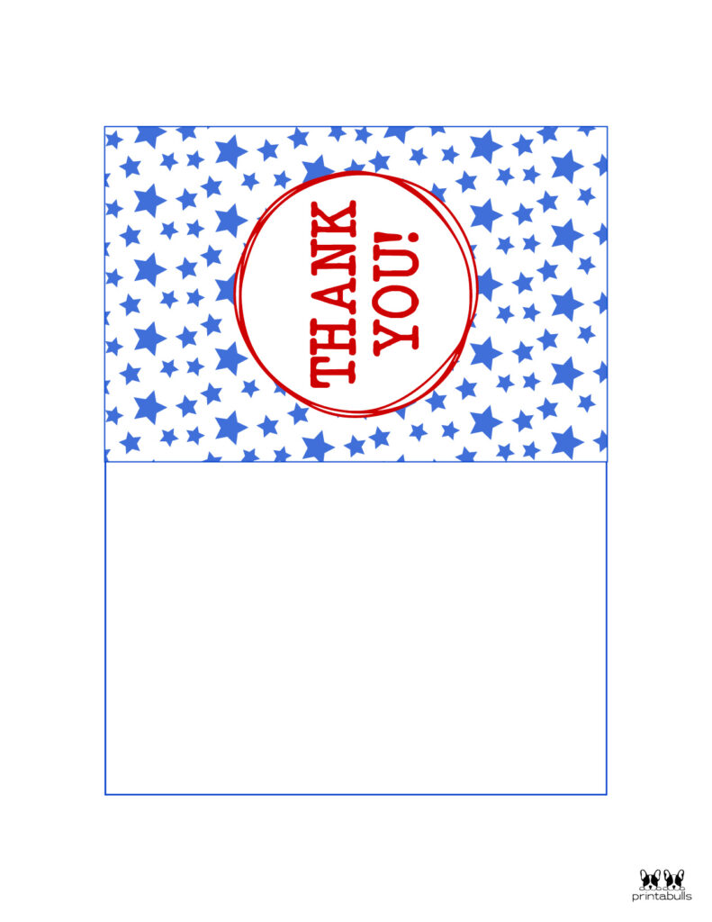 Printable Military Thank You Cards-Page 3