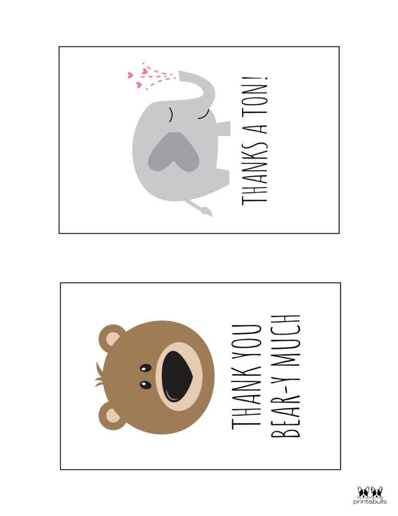 Printable Pun Thank You Cards-Page 5