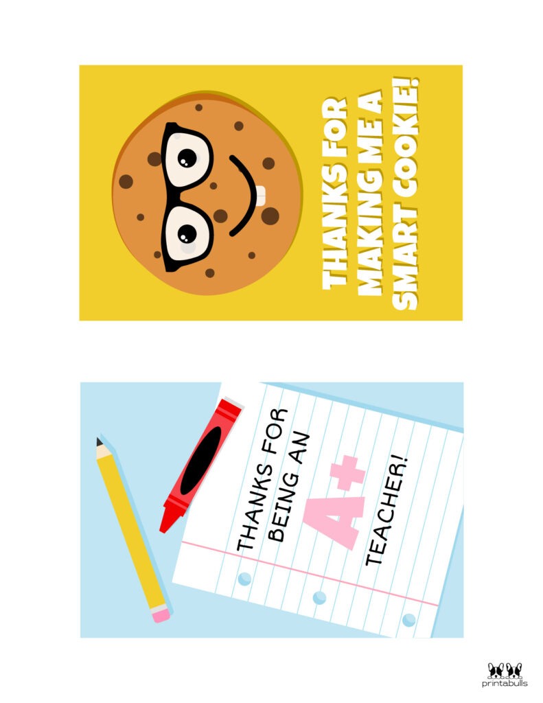 Printable Teacher_Student Thank You Cards-Page 3