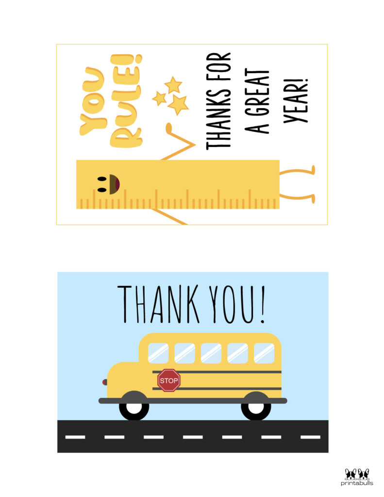 Printable Teacher_Student Thank You Cards-Page 5