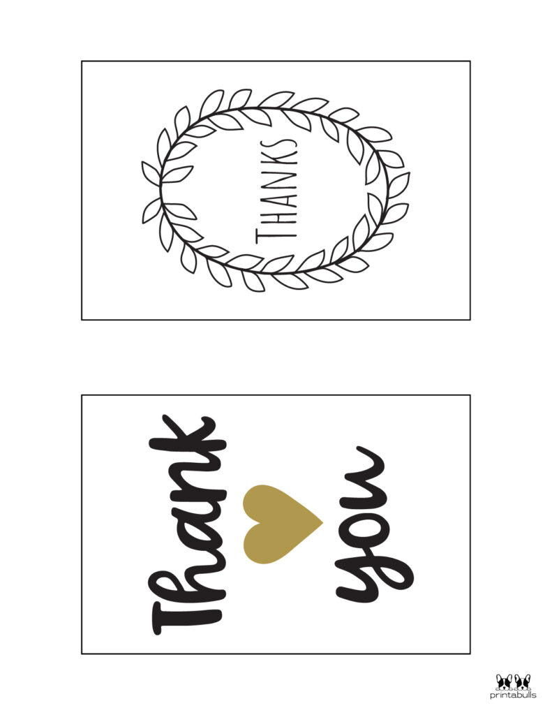 Printable Thank You Cards-Page 10