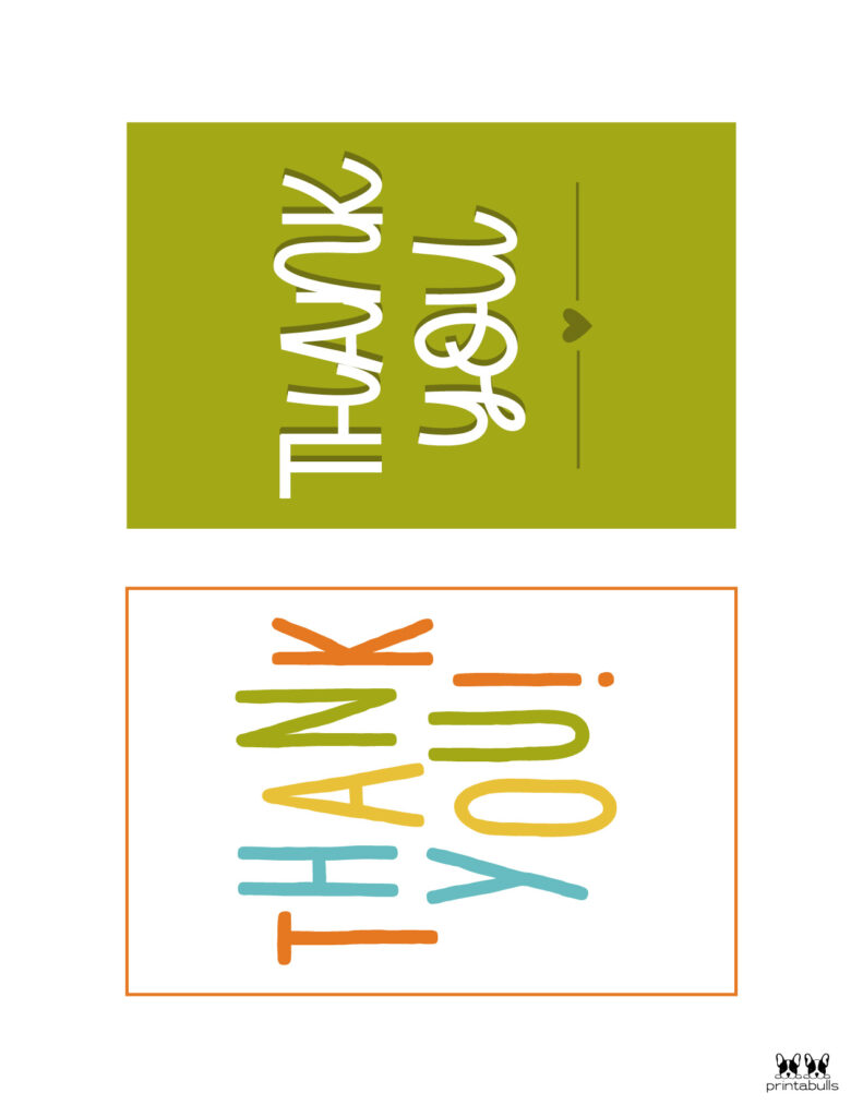 Printable Thank You Cards-Page 11