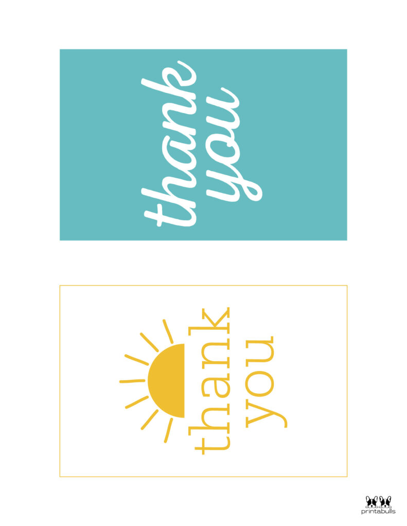 Printable Thank You Cards-Page 12