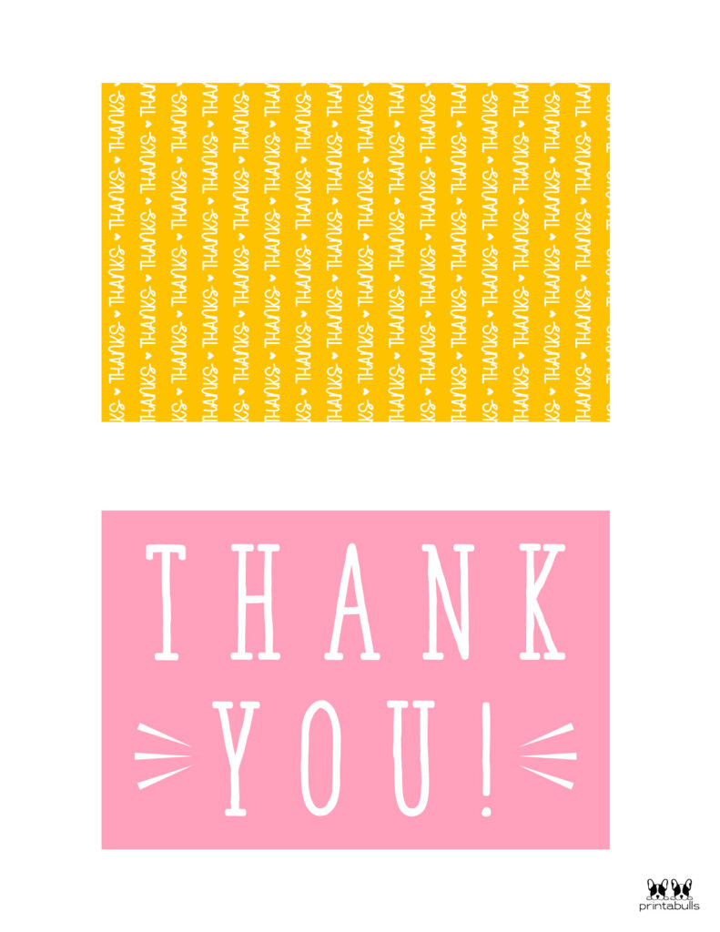 Printable Thank You Cards-Page 13
