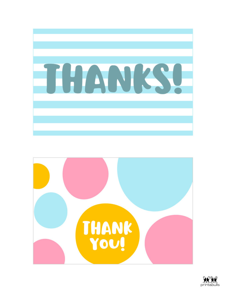 Printable Thank You Cards-Page 14