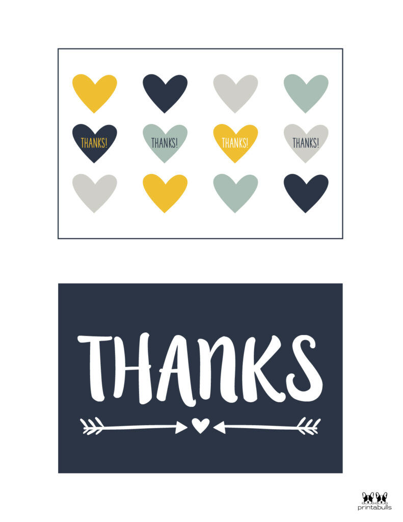 Printable Thank You Cards-Page 15