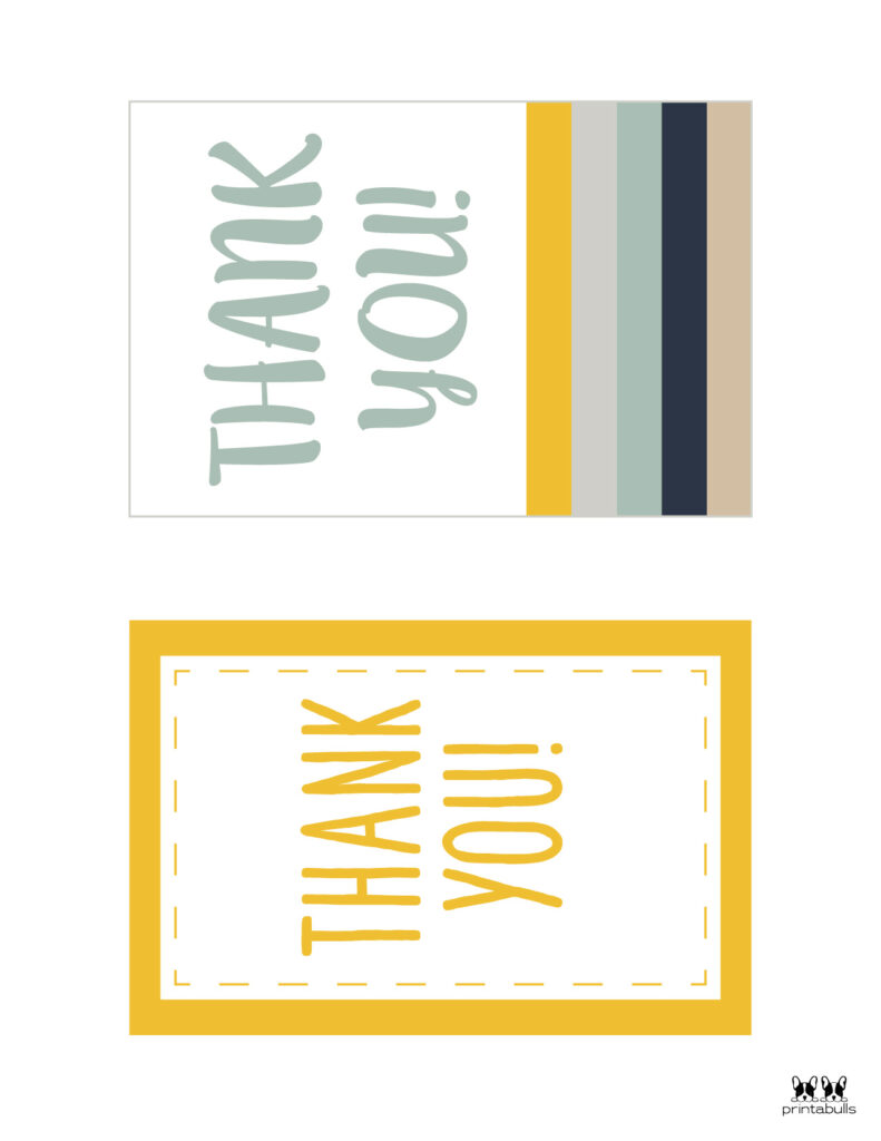 Printable Thank You Cards-Page 16