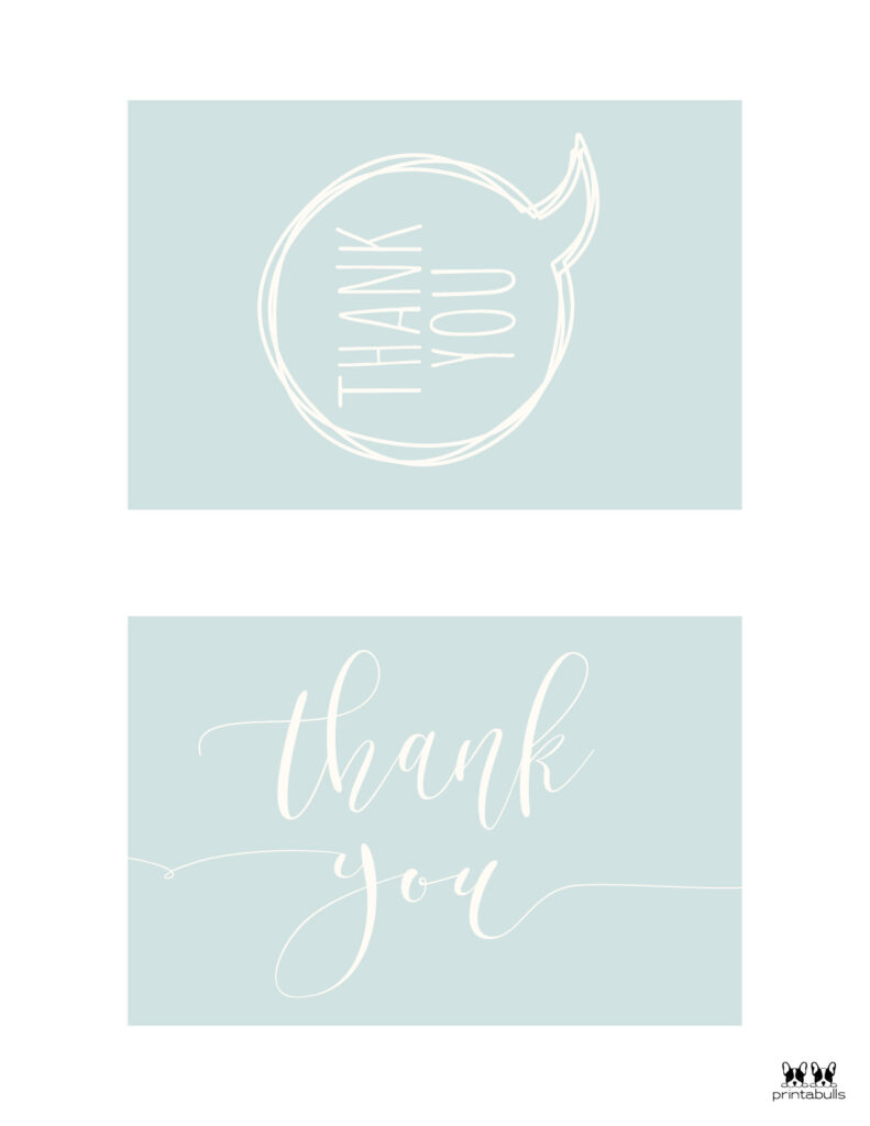 Printable Thank You Cards-Page 17