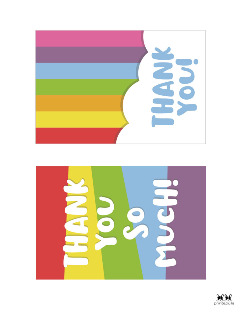 Printable Thank You Cards-Page 18