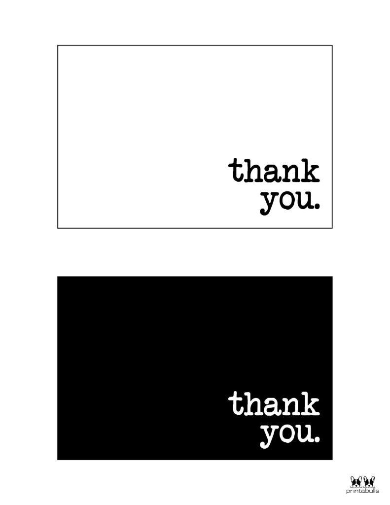 Printable Thank You Cards-Page 19