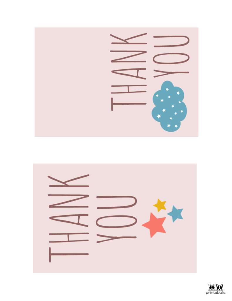 Printable Thank You Cards-Page 2