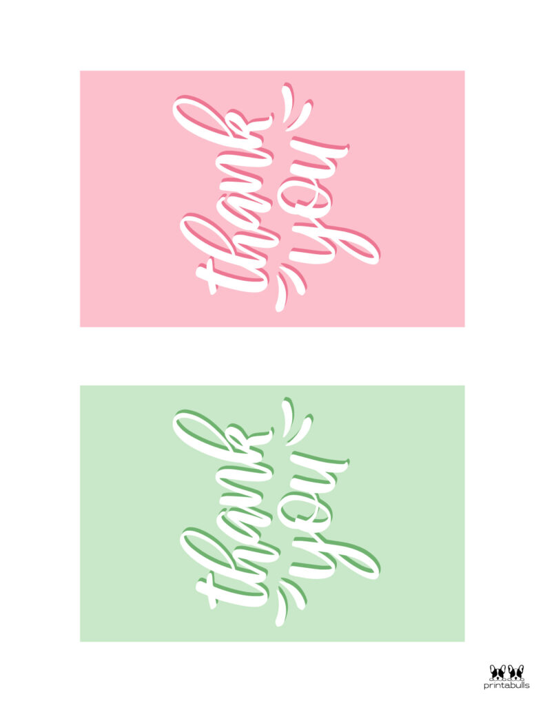 Printable Thank You Cards-Page 20
