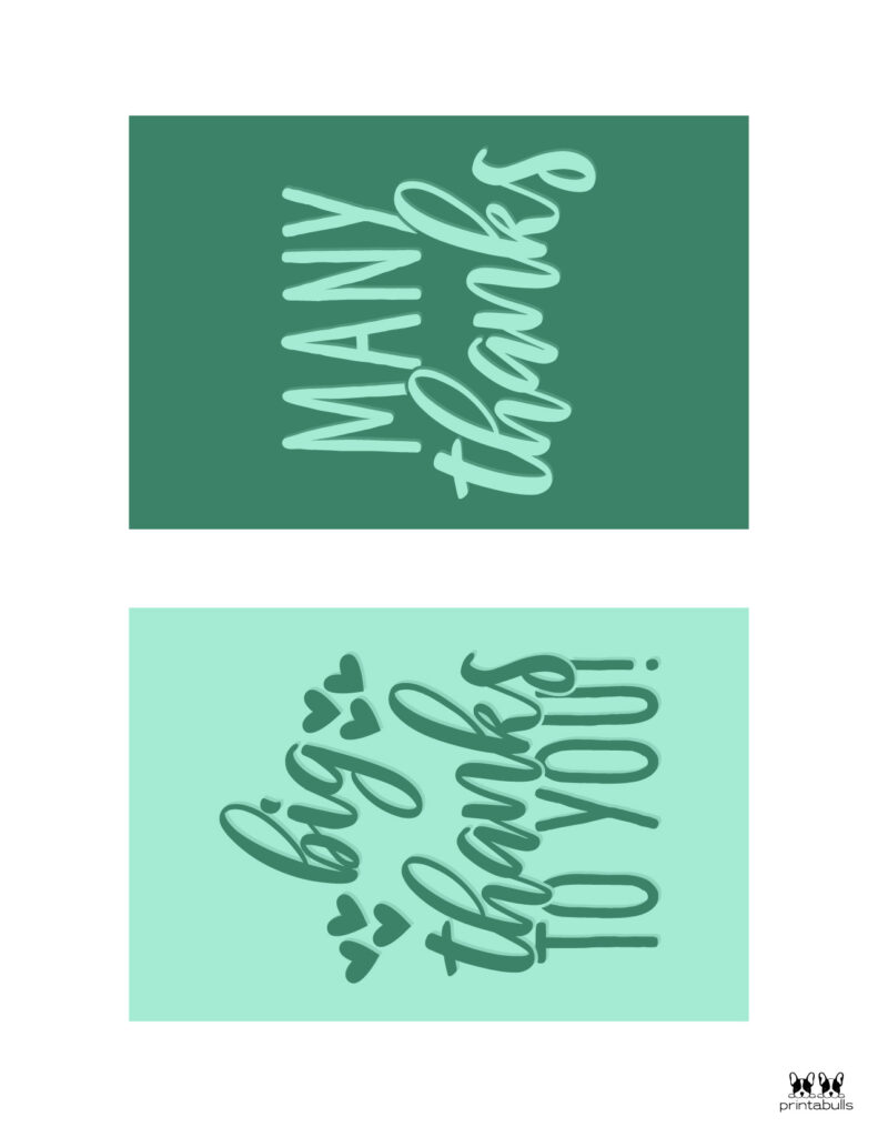 Printable Thank You Cards-Page 22