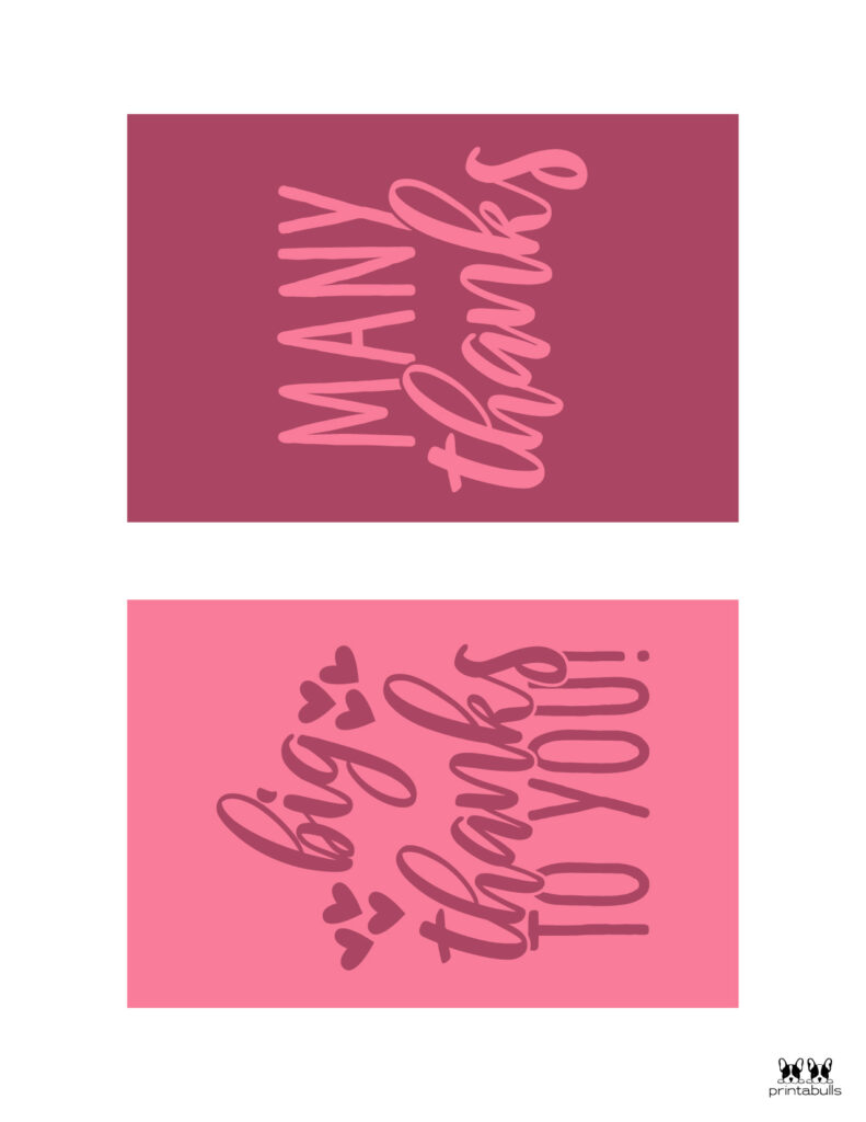 Printable Thank You Cards-Page 23
