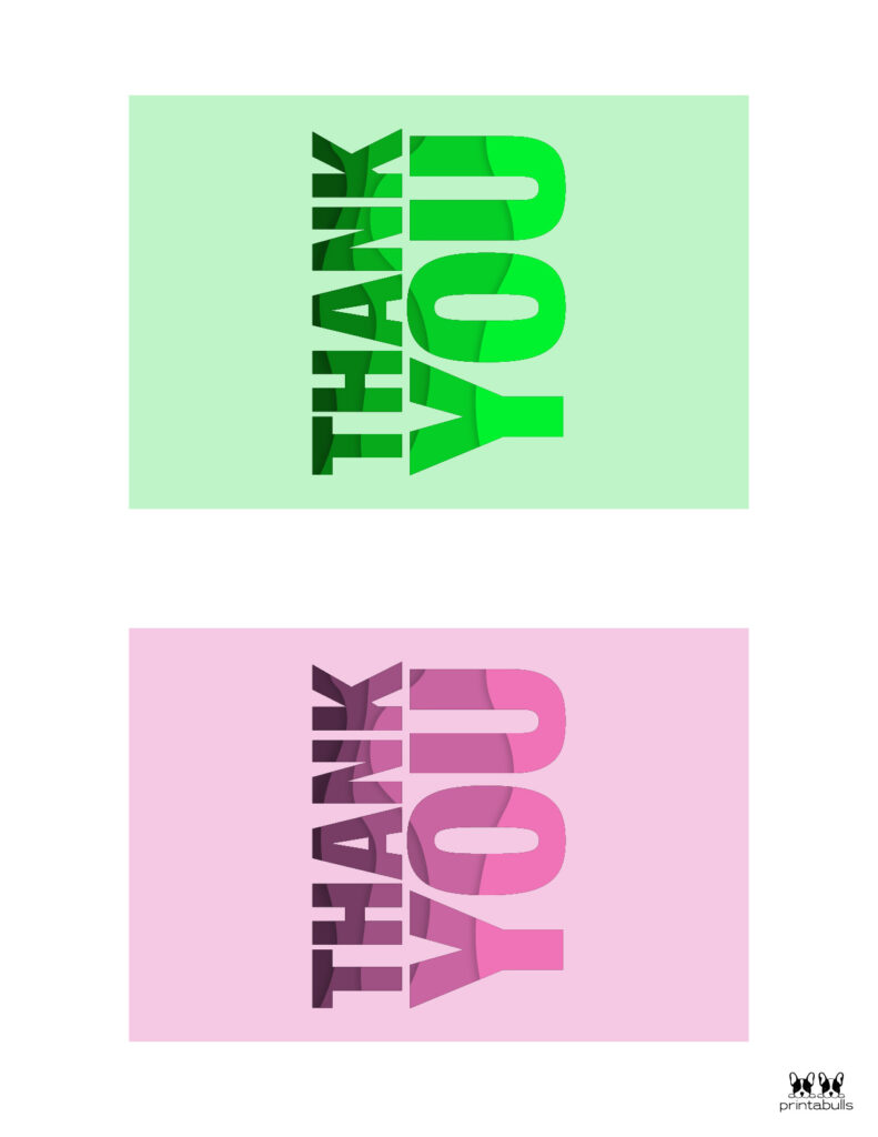 Printable Thank You Cards-Page 26