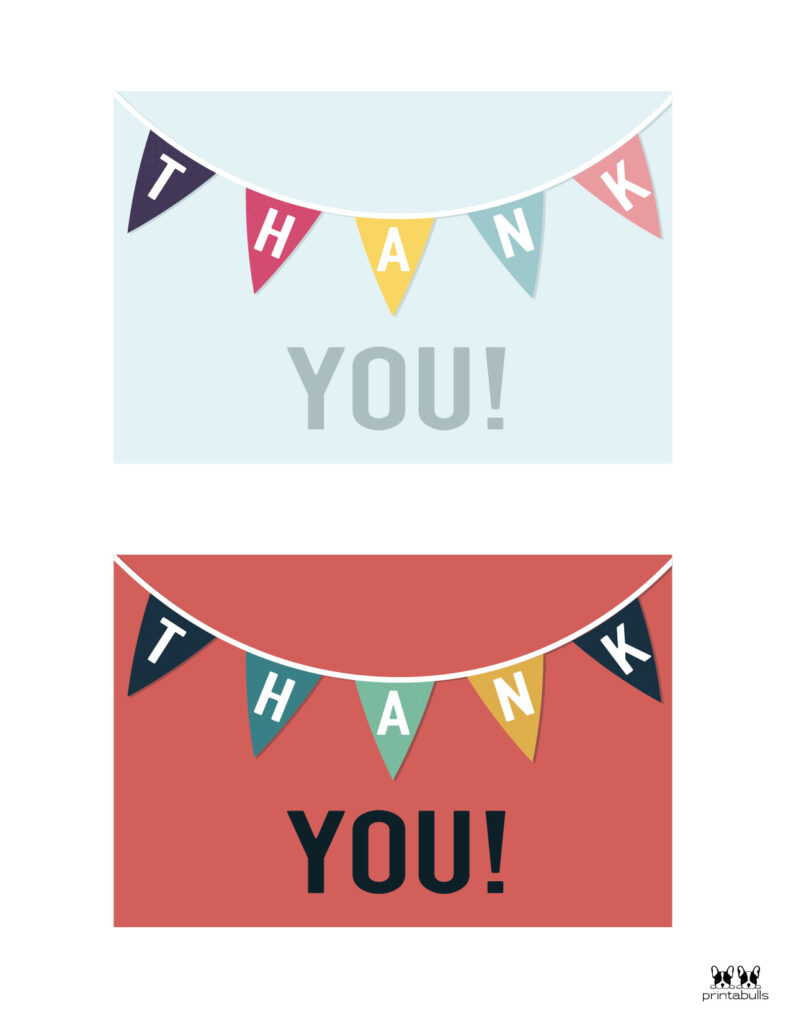 Printable Thank You Cards-Page 27