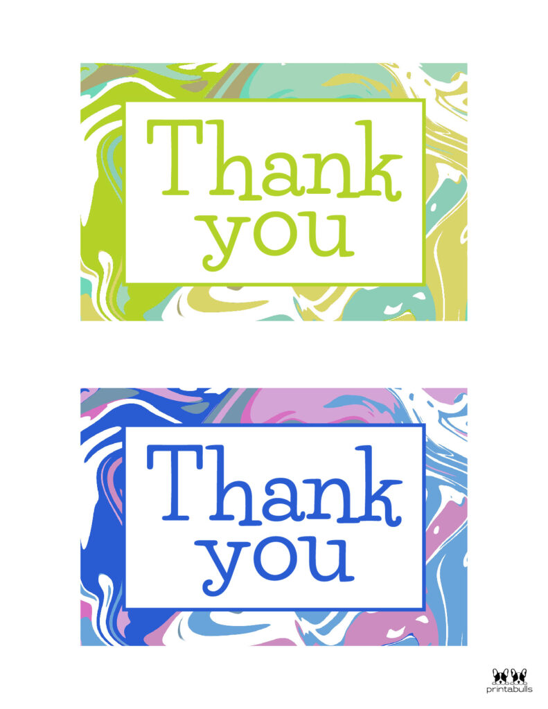 Printable Thank You Cards-Page 28