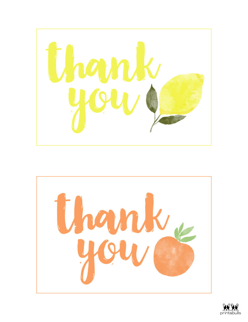 Printable Thank You Cards-Page 29