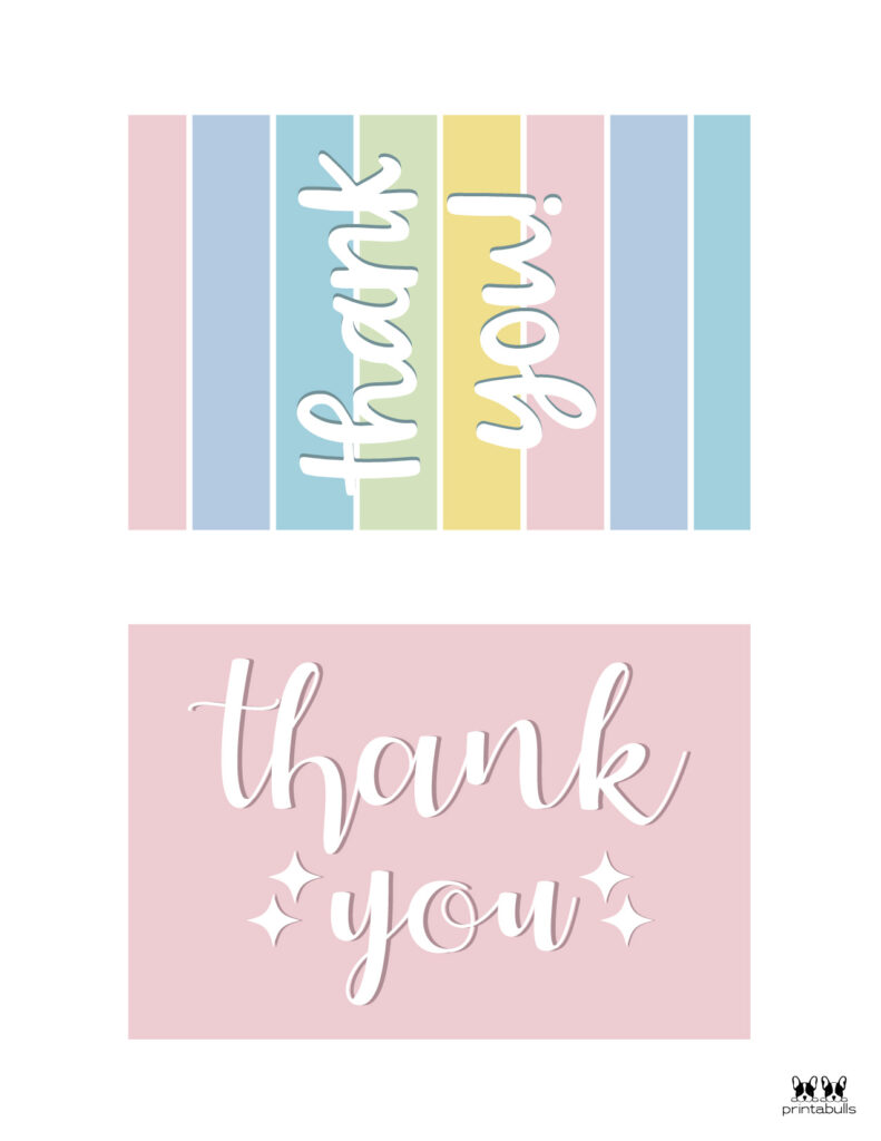 Printable Thank You Cards-Page 3