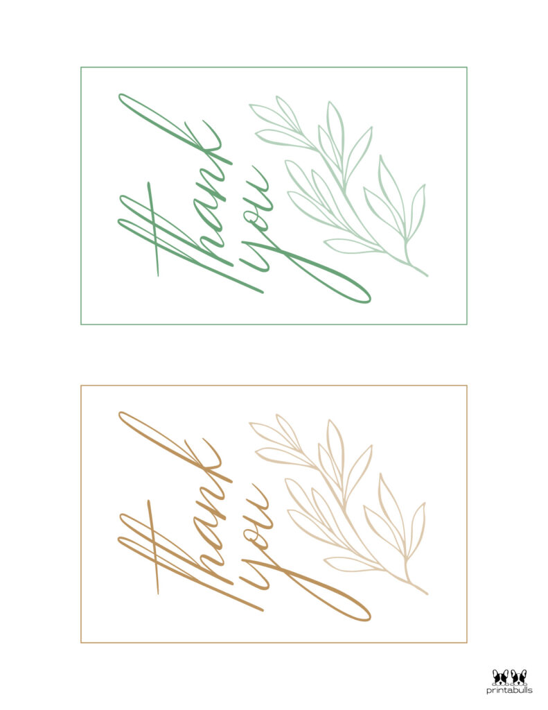 Printable Thank You Cards-Page 30