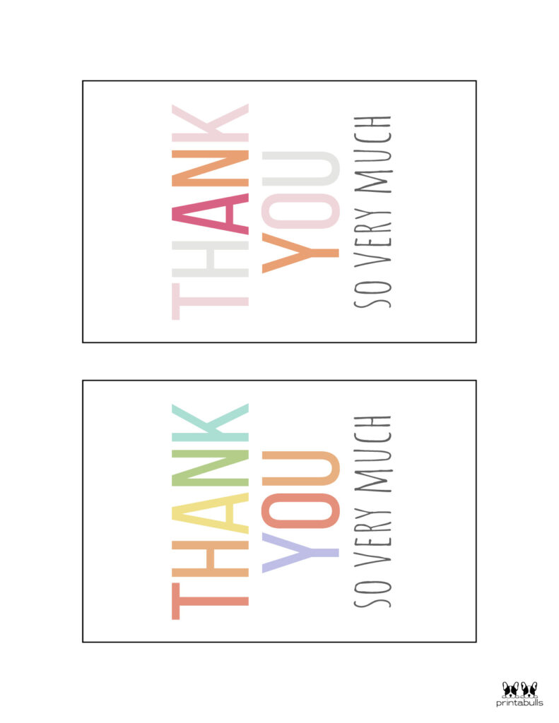Printable Thank You Cards-Page 31