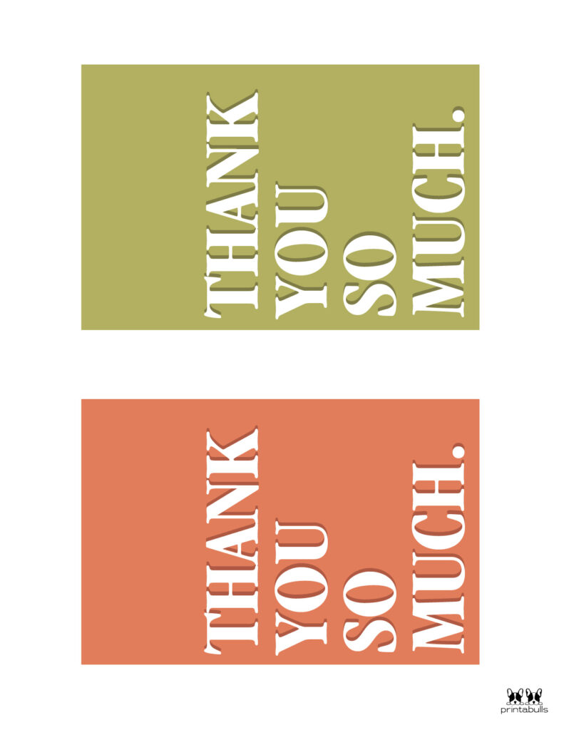 Printable Thank You Cards-Page 32