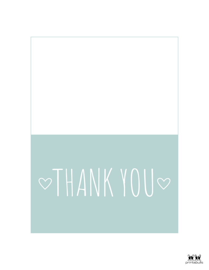 Printable Thank You Cards-Page 33