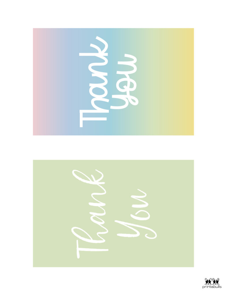 Printable Thank You Cards-Page 4