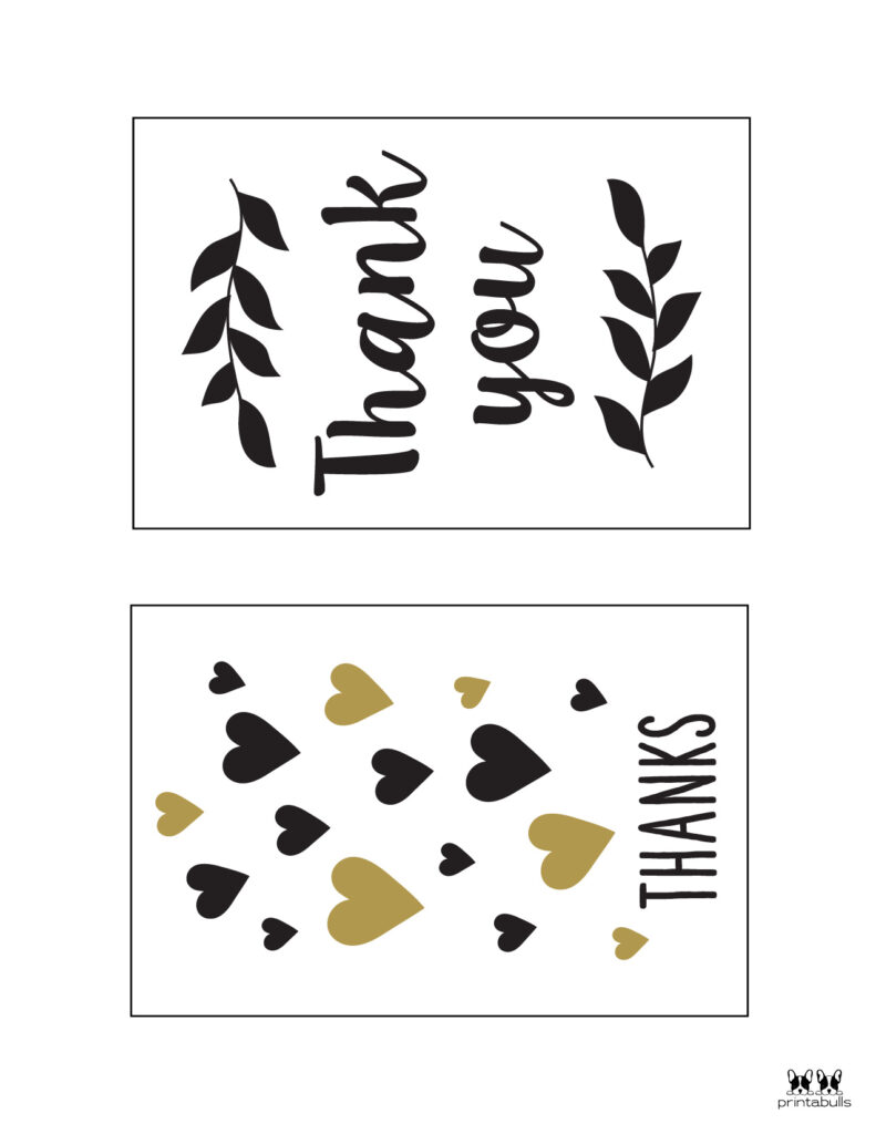 Printable Thank You Cards-Page 8