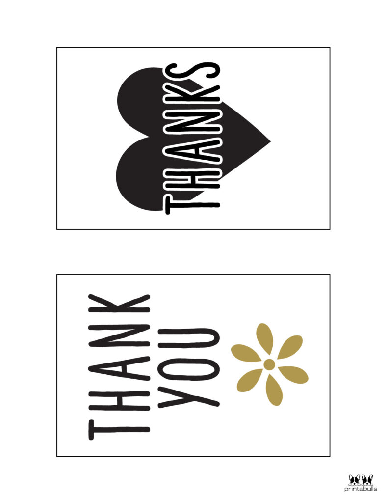 Printable Thank You Cards-Page 9