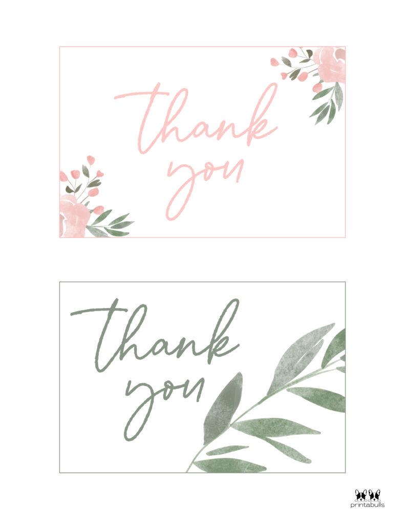 Printable Wedding Thank You Cards-Page 2