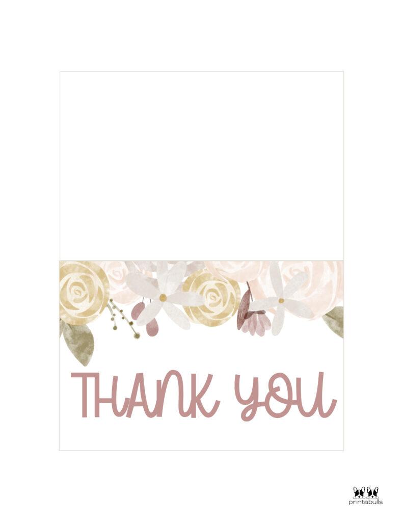 Printable Wedding Thank You Cards-Page 3
