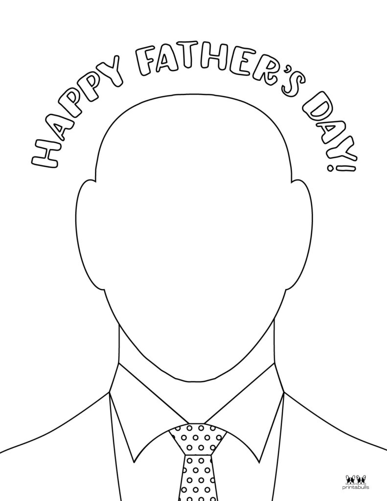 Printable Father's Day Coloring Page-Page 2