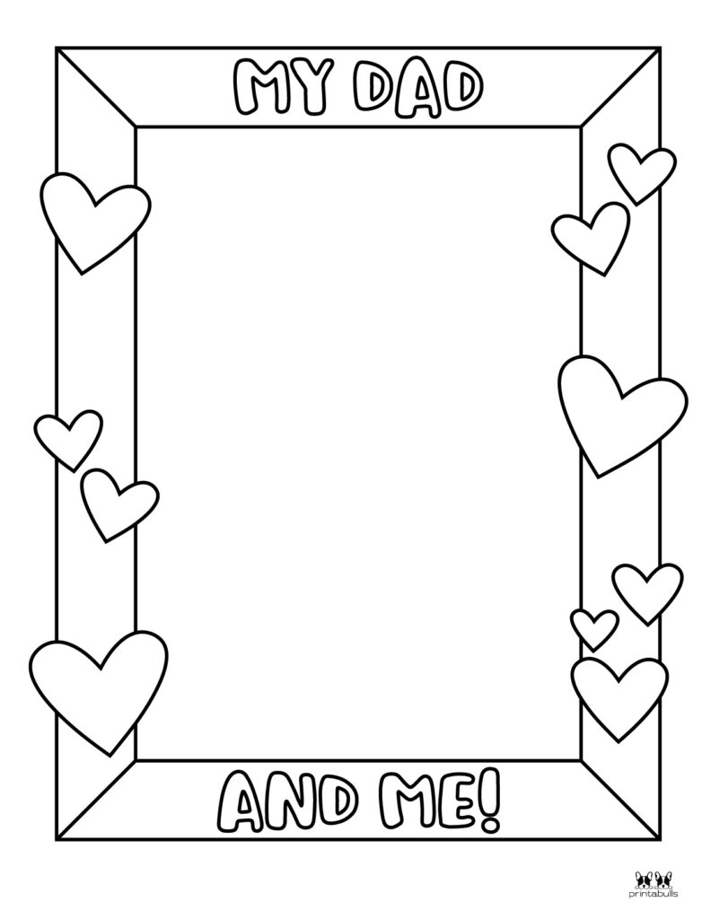 Printable Father's Day Coloring Page-Page 3