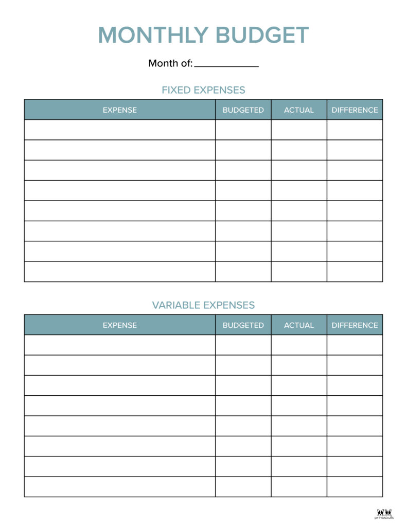 Monthly Budget Template-Page 7