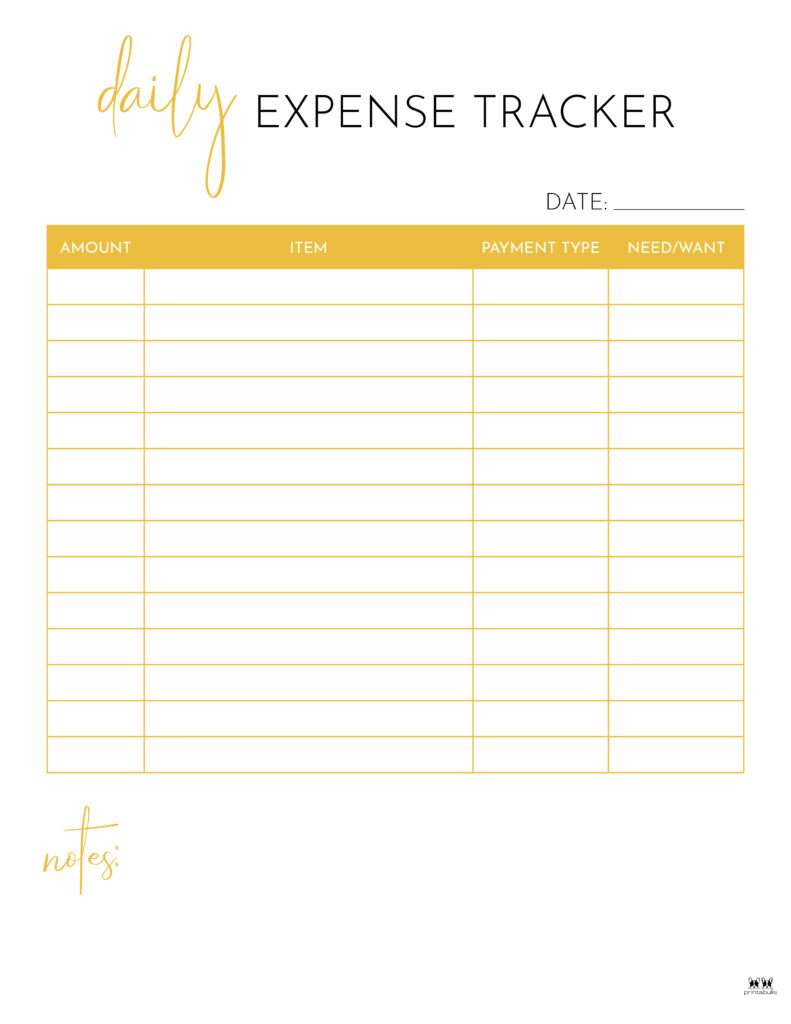 Printable Expense Tracker-Page 17