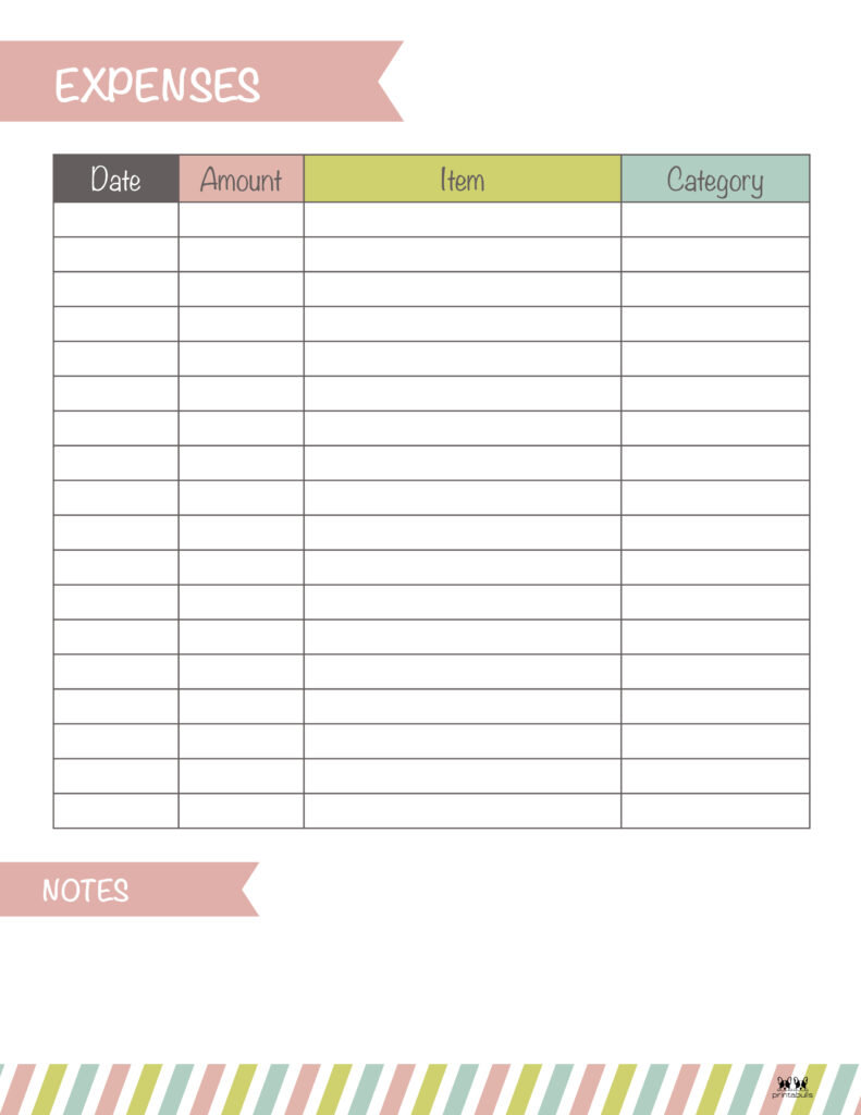 Printable Expense Tracker-Page 20