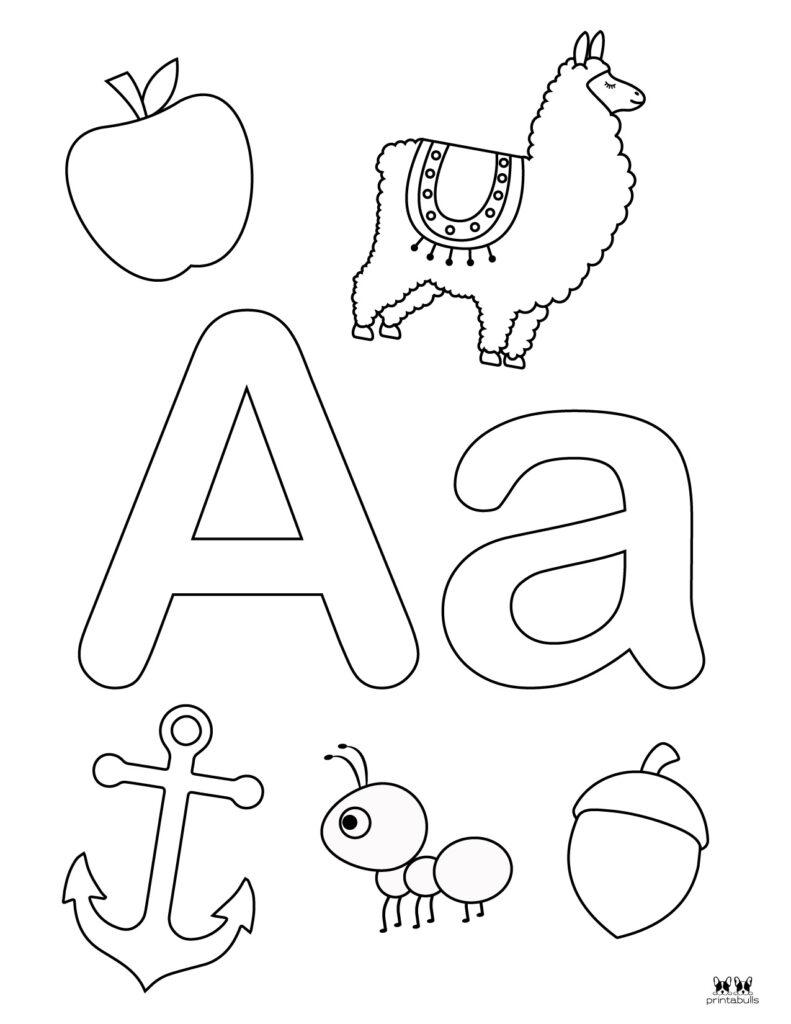 Letter A Worksheet-Page 20