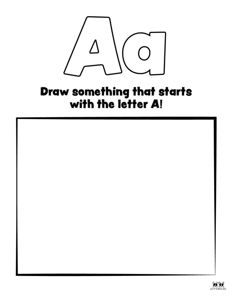 Letter A Worksheet-Page 31
