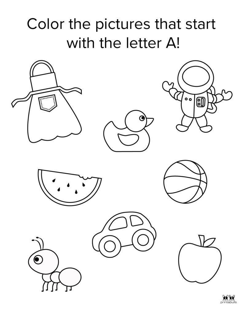 Letter A Worksheet-Page 32