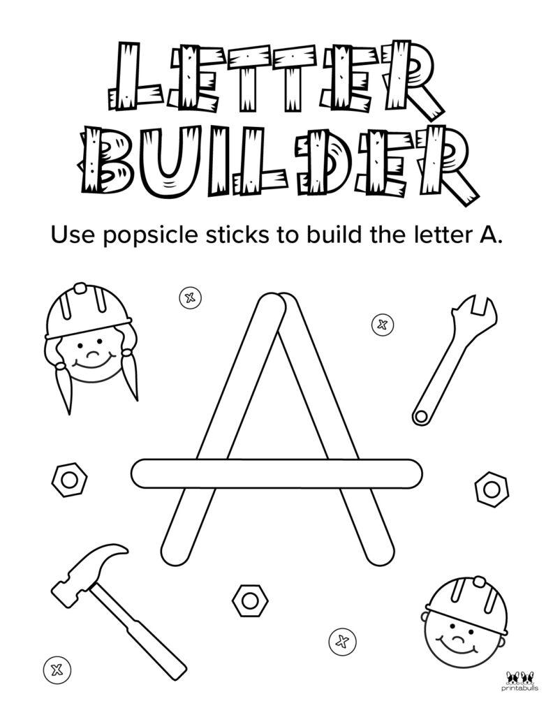 Letter A Worksheet-Page 41