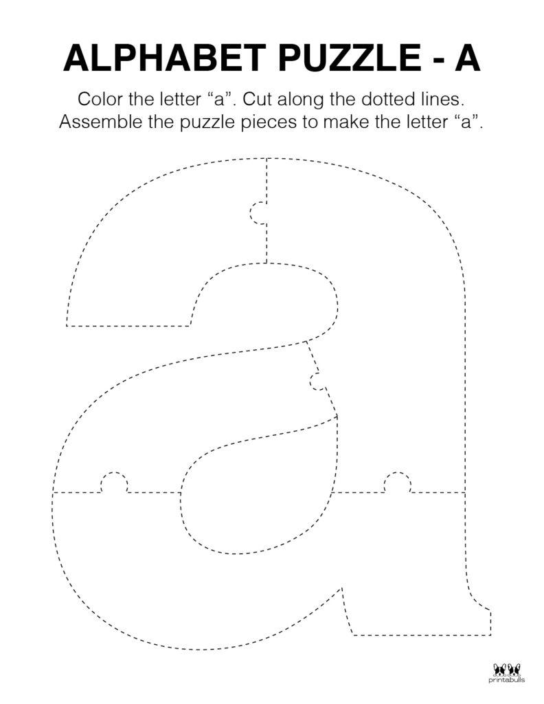 Letter A Worksheet-Page 45